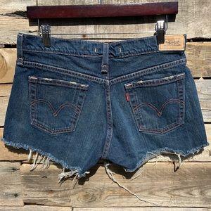 🌻Levi's 515 Cutoff Jean Shorts | Size 10 {J1}